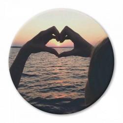 MAGNET L SUNNY HEART
