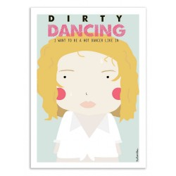 AFFICHE DIRTY DANCING 30X40CM