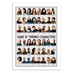 AFFICHE GAME OF THRONES...