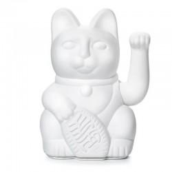 LUCKY CAT MANEKI NEKO BLANC