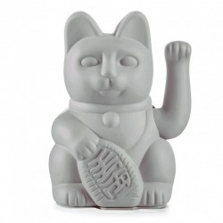 LUCKY CAT MANEKI NEKO GRIS