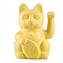 LUCKY CAT MANEKI NEKO JAUNE